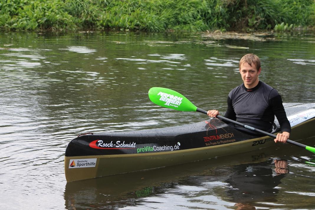 Perform Better Europe Athlet Lars Walter beim Training