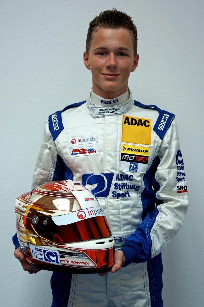 Formel BMW Talent Maximilian Günther