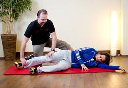 Funktionelles Training für Fussballerinnen - Endposition Negativ Wiederholungen