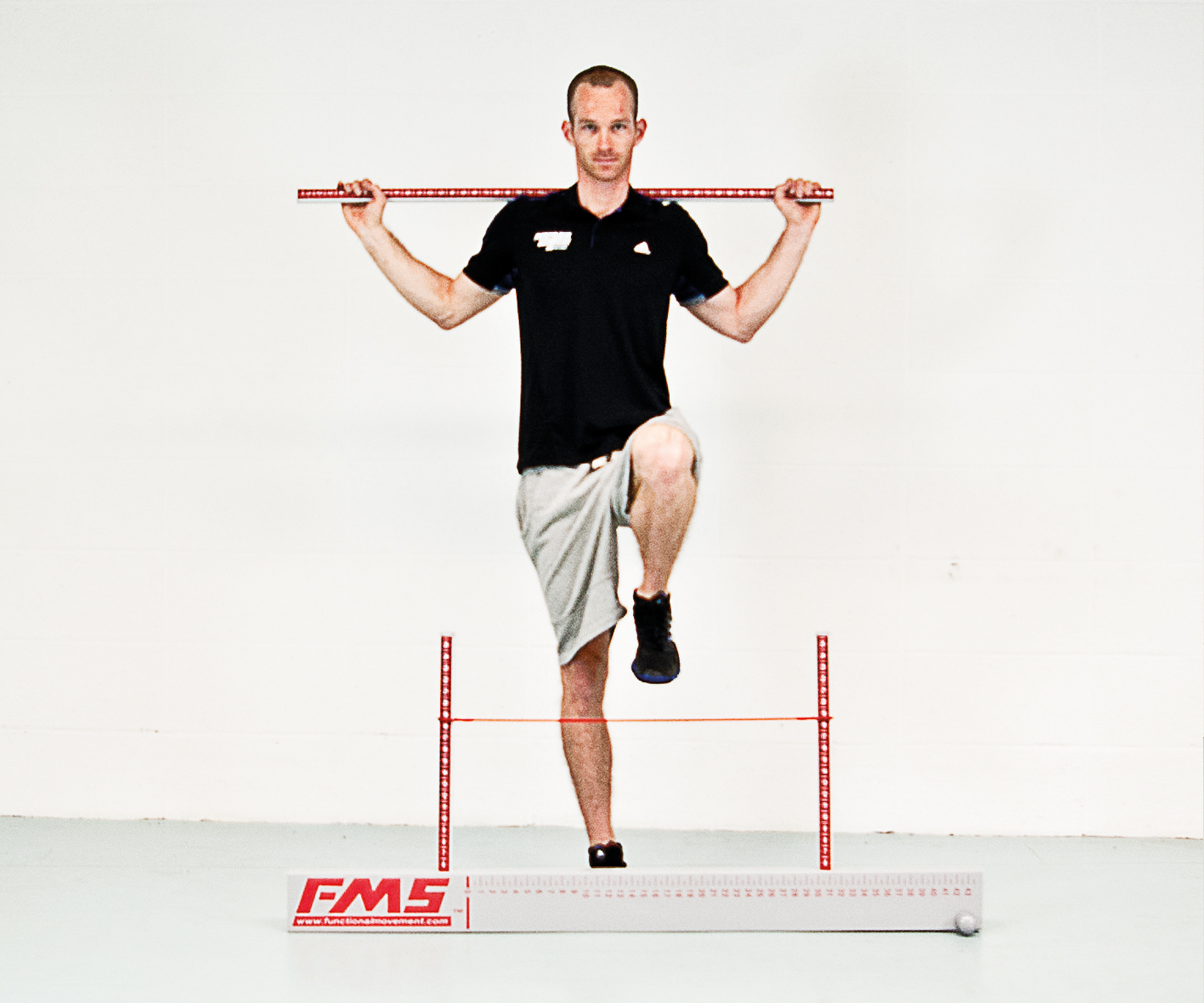 Functional Movement Screen Übung: Hurdle Step