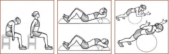 Aufwärmen - Mobilisierung der Brustwirbelsäule