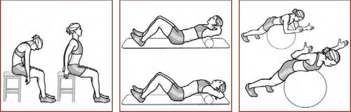 Aufwärmen - Stabilisierung der Schulterblätter/ Mobilisierung der Schultergelenke