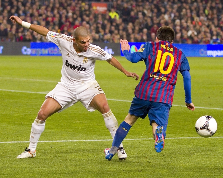 Agilität Messi und Pepe - Natursports by shutterstock.com