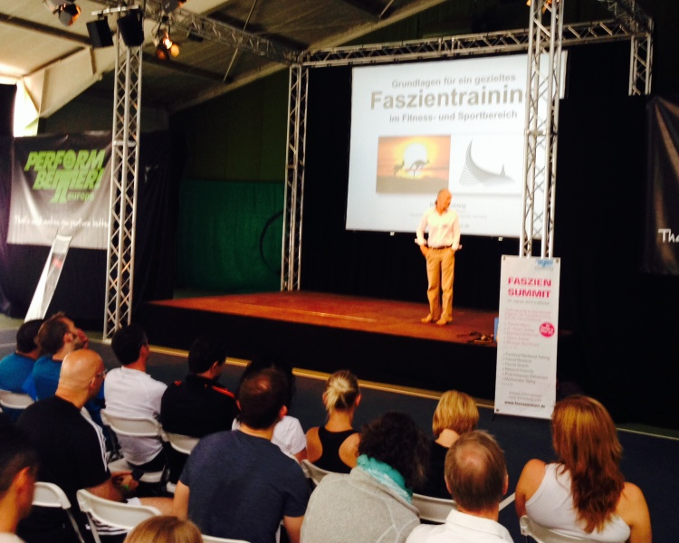 Functional Training Summit 2014 mit Dr. Robert Schleip