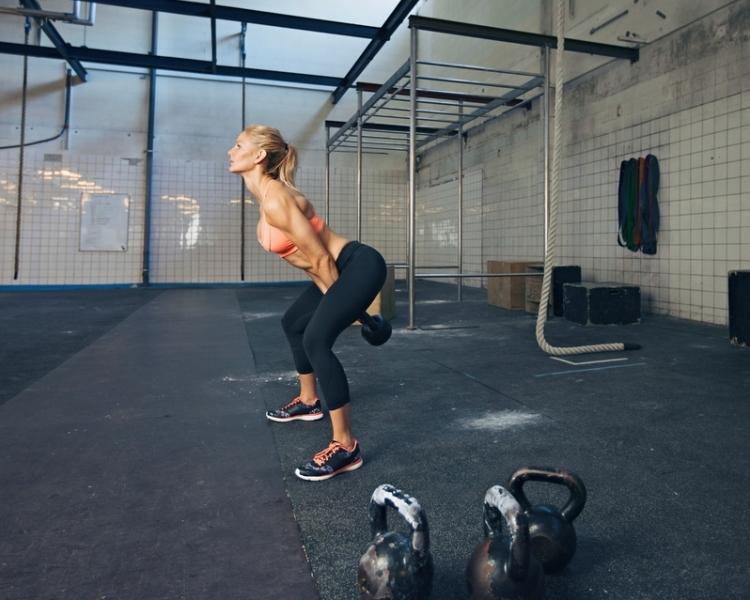 Wettkampf- und Fitness-Kettlebell