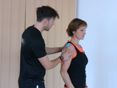 Funktionelles Impingement Taping, Therapie,Training,Functional Training Magazin, Functional Training