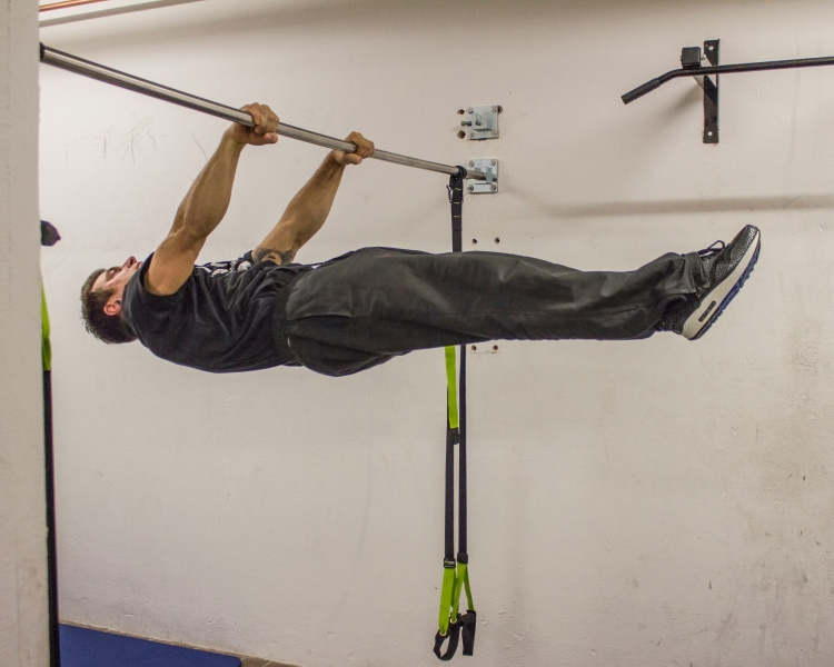 Andi Lutz - Front Lever